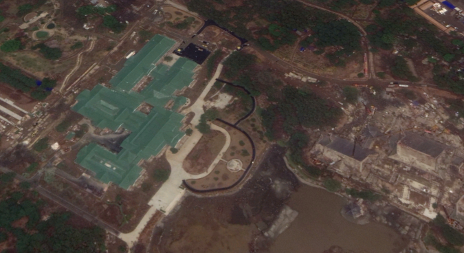 Xi Jinping's guesthouse in Pyongyang possibly new rapidly-built mansion complex