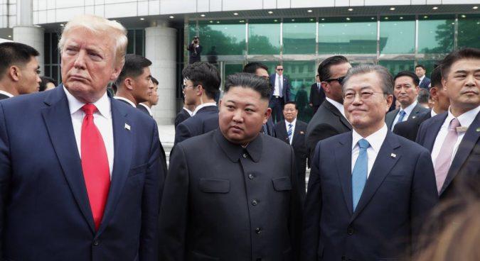 At Sunday's surprise U.S.-North Korea summit, the return of Moon the facilitator?