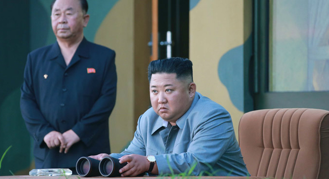 "North Korea tested new ""guided weapon"" in warning to South, state media says"