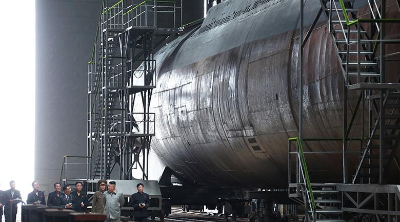 Revealed: North Korea's likely new submariner training center