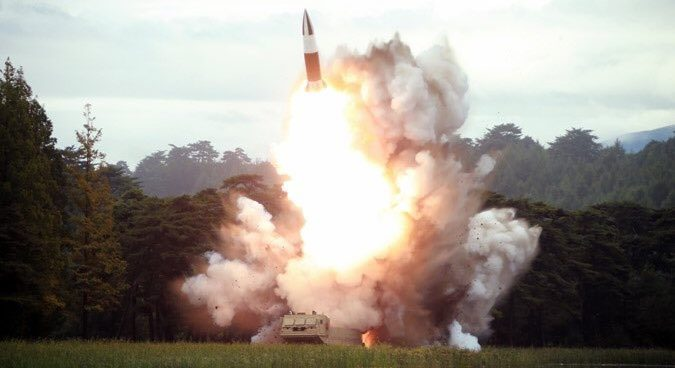 """Kim Jong Un oversaw """"perfect"""" test of new North Korean weapon on Friday: KCNA"""