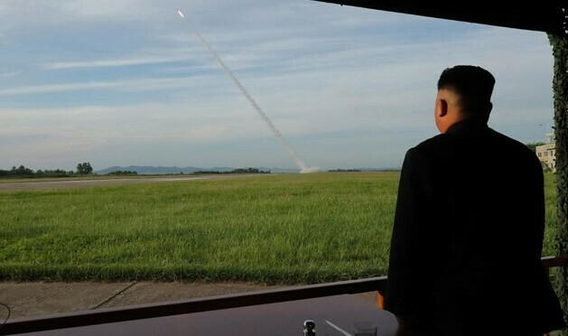 """North Korea tests """"super-large"""" multiple rocket launch system: KCNA"""