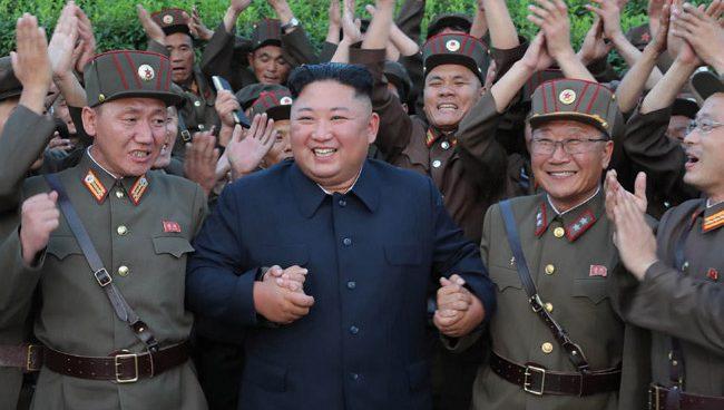 "Kim Jong Un promotes 103 scientists for achievements in ""national defense"": KCNA"
