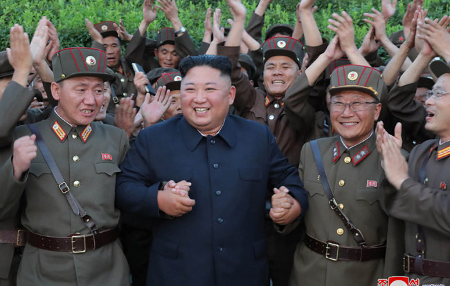 Kim Jong Un promotes 103 scientists for achievements in 'national defense': KCNA