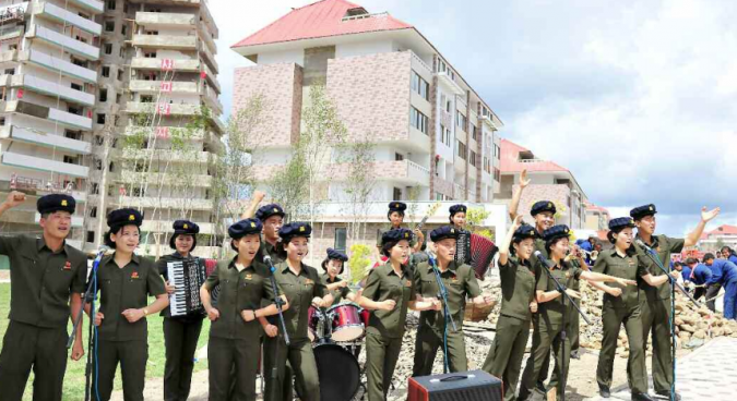 Thousands of North Korean students spend summer vacations on building site: KCNA