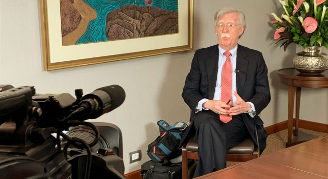 """North Korea must denuclearize in """"big deal"""" before economic concessions: Bolton"""