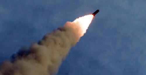 "North Korea fires two ""short-range ballistic missiles,"" South Korea says"