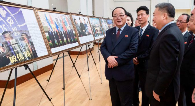 N. Korea sends top international trade official to major regional expo in China