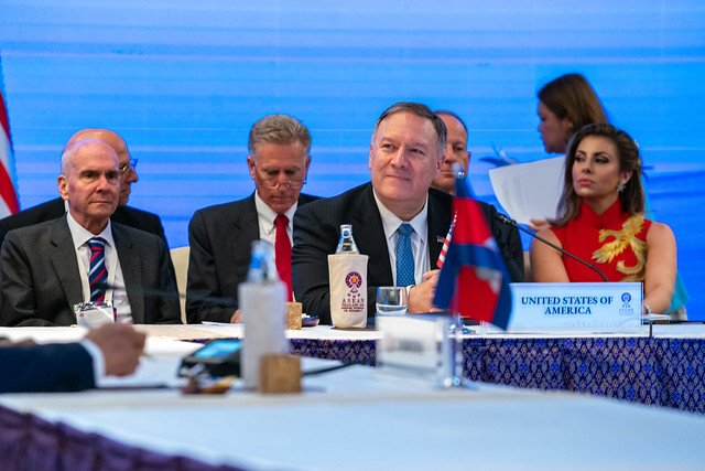 Pompeo says conversations ongoing, despite North Korean no-show at ASEAN forum