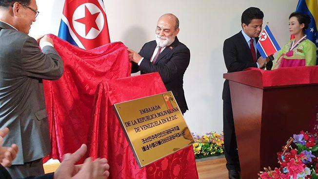 Venezuela eröffnet Botschaft in Nordkorea
