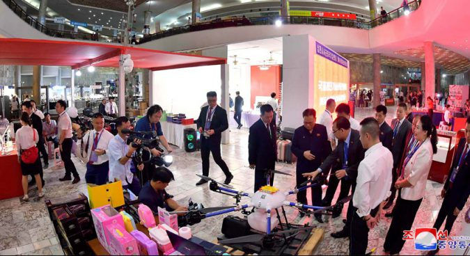 """New trade fair featuring """"high-tech"""" Chinese products kicks off in Pyongyang"""
