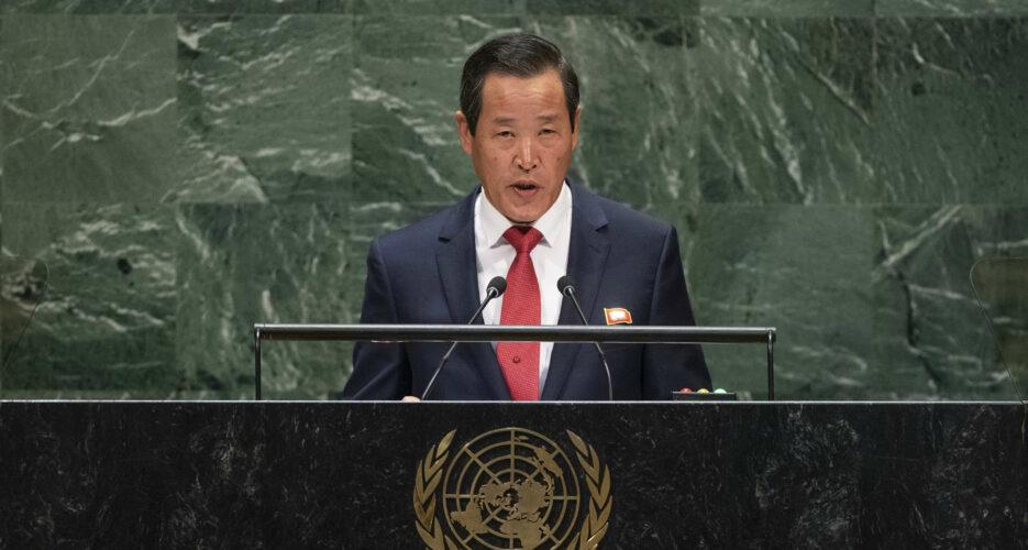 North Korea's UN ambassador bemoans lack of progress with the U.S., South Korea