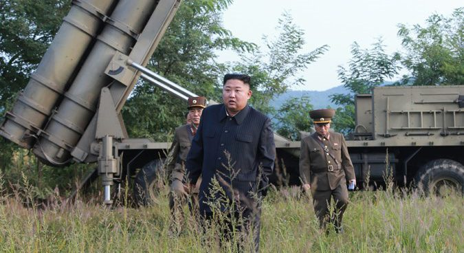 """Kim Jong Un guidedanother test of new """"super-large"""" MLRS on Tuesday: KCNA"""