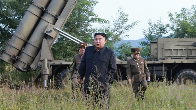Kim Jong Un guided another test of new 'super-large' MLRS on Tuesday: KCNA