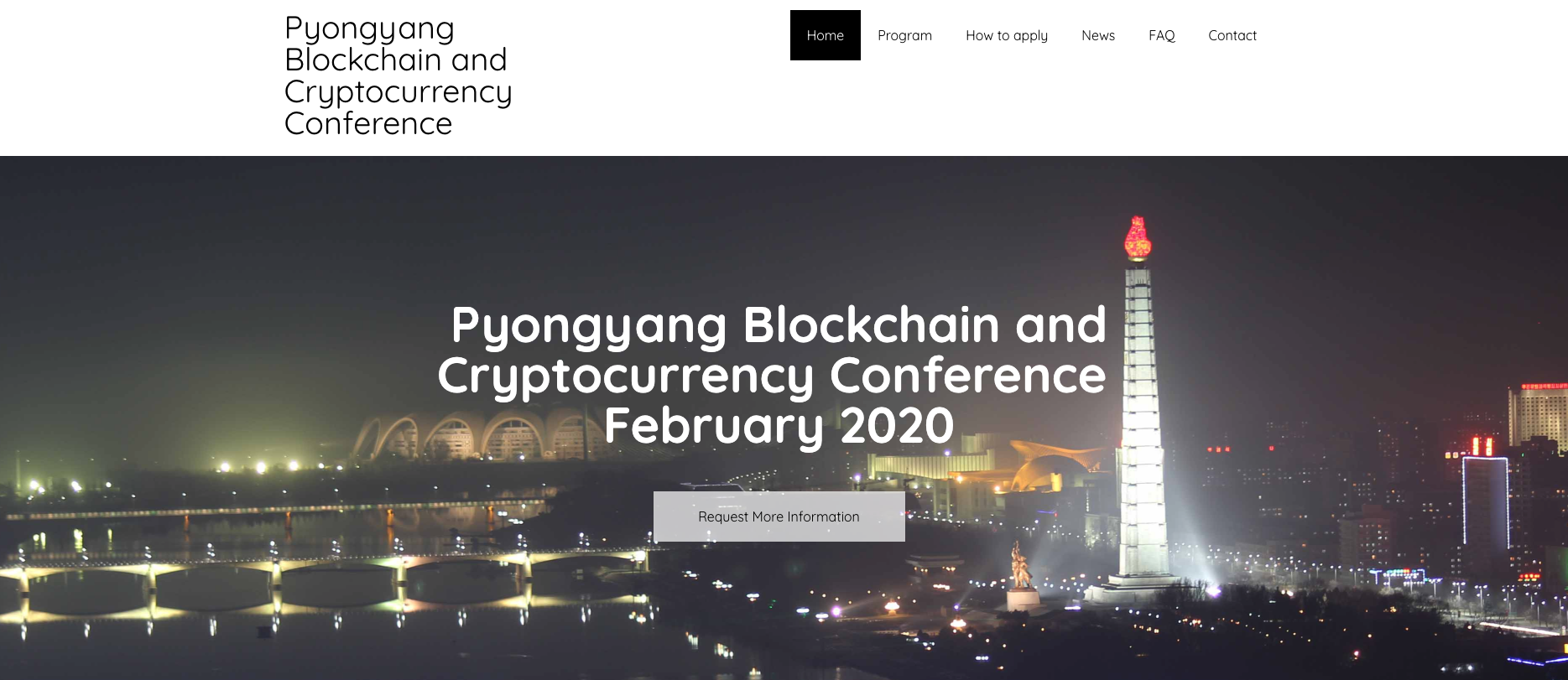 Blockchain and cryptocurrency conference 2020