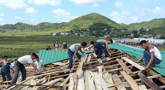 """Damage from Typhoon Lingling """"smaller than expected,"""" North Korean media says"""
