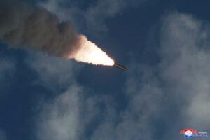 North Korea launches 'short-range' missile toward East Sea, Seoul says