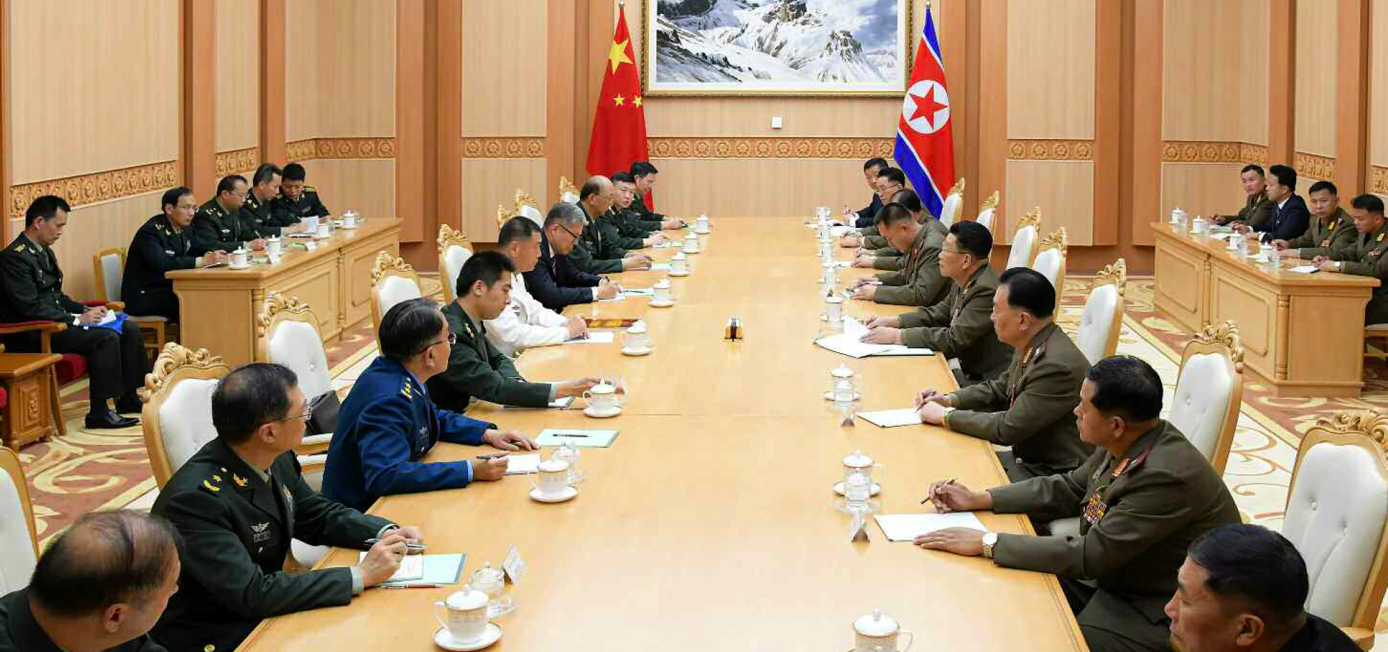 China, North Korea hold high-level military talks in Pyongyang