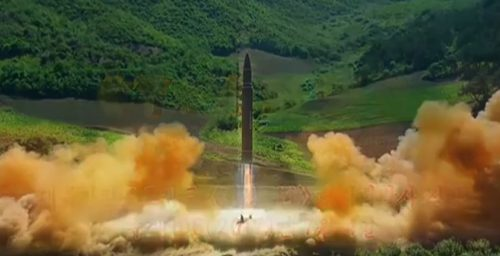 North Korea touts ICBM developments in KCTV film