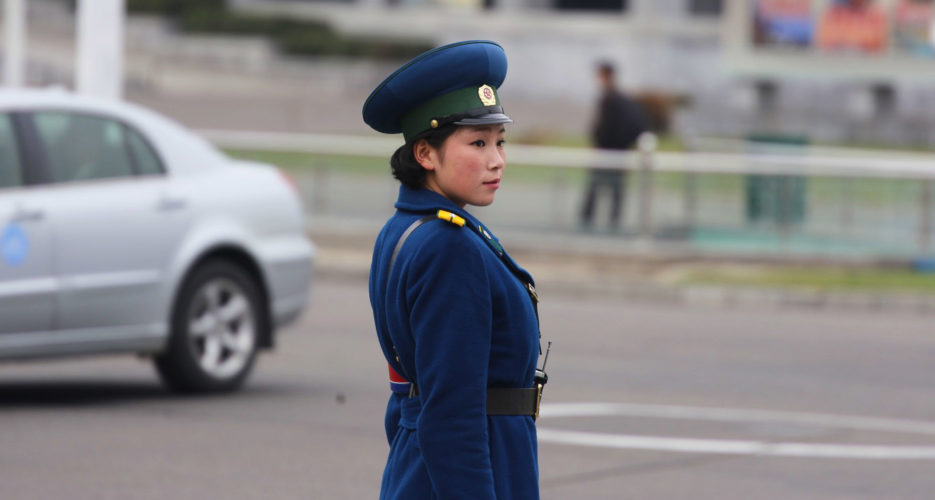 OH NO! round 2 - TRAFFICGIRLS DISAPPEARING FROM PYONGYANG STREETS Traffic-woman-dprk-935x500