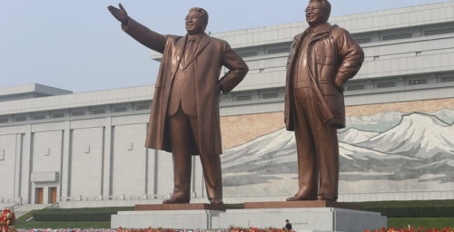 Bow to the leader: a history of North Korea's iconic and ubiquitous Kim statues