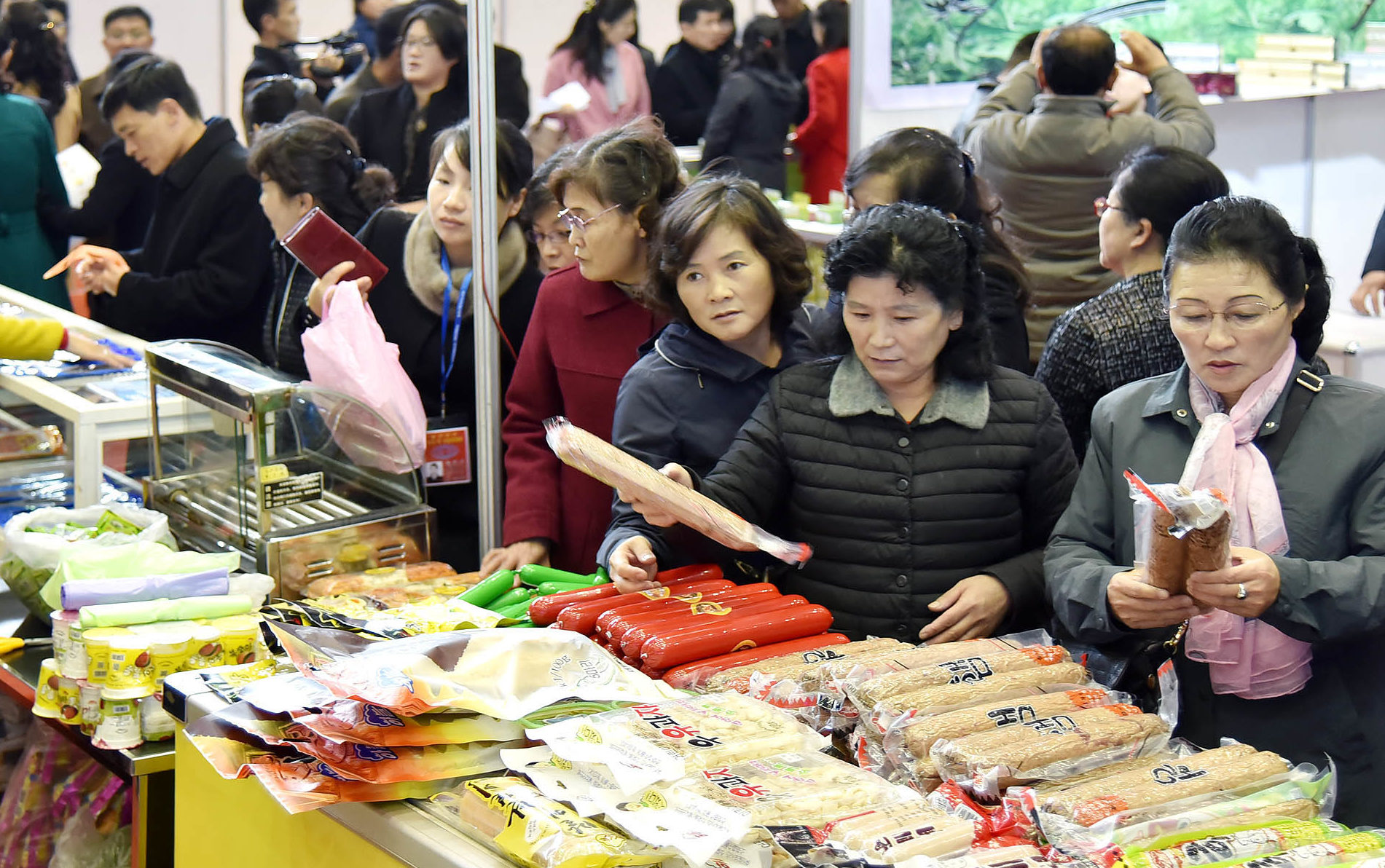 Another new international foodstuffs exhibition wraps up in Pyongyang