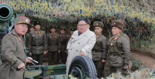 """South Korea says it """"strongly"""" protests recent North Korean artillery drill"""
