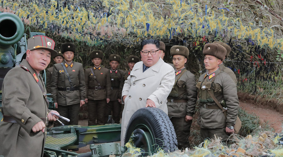 """Kim Jong Un visits frontline units, orders military to step-up """"war-like"""" drills"""