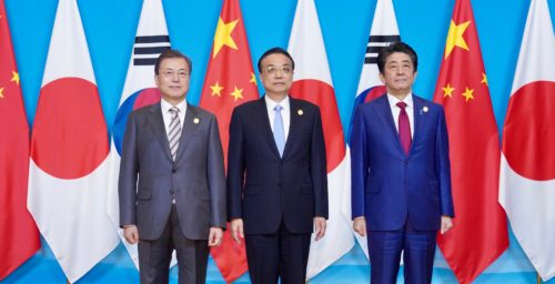 South Korea, China, and Japan agree to promote DPRK denuclearization talks