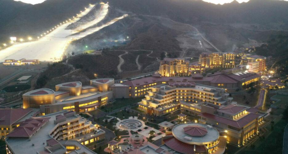 Kim Jong Un oversees opening of Yangdok Hot Springs and ski resort