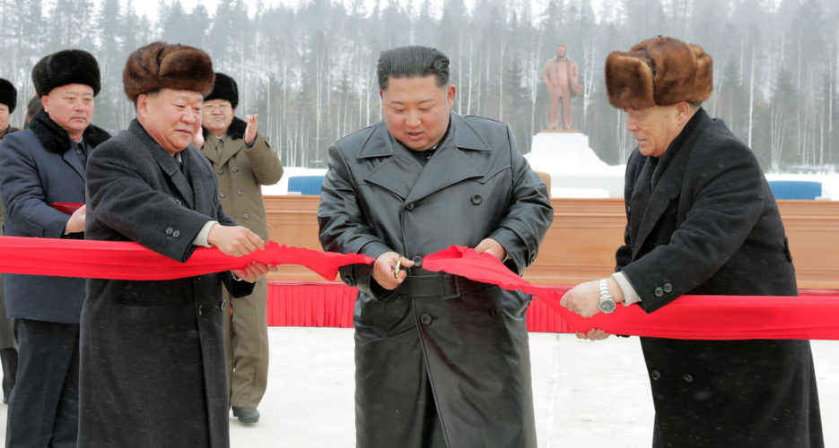 """North Korea unveils newly-reconstructed """"utopia"""" town in Samjiyon"""