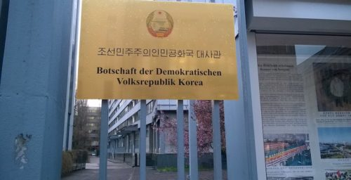Following Brexit, North Korean embassy in Germany now running relations with EU