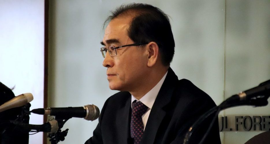 Former North Korean diplomat vows to improve protection for defectors if elected