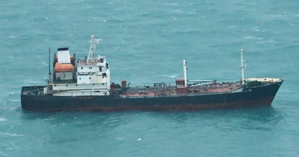 Sanctioned North Korean tanker caught in ship-to-ship transfer near China: Japan