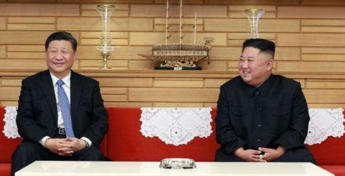 Kim Jong Un offers Chinese leader help in fight against novel coronavirus
