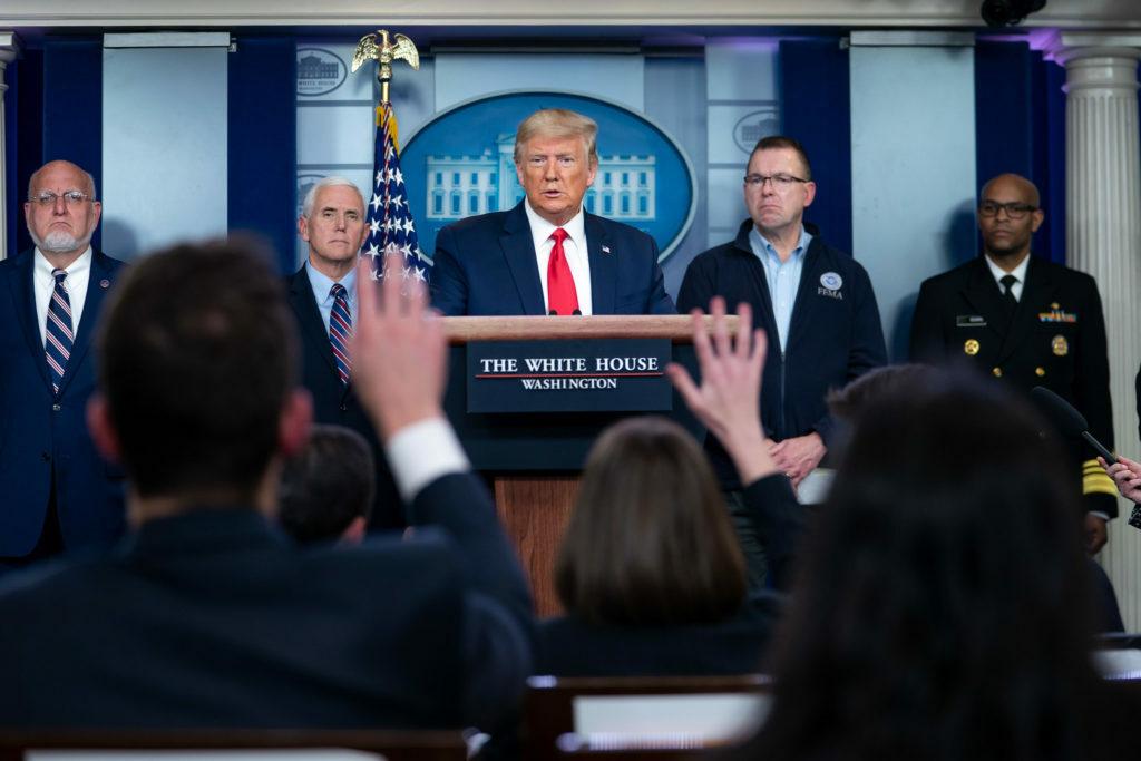 If North Korea needs coronavirus help, 'we'll give them help,' Trump says