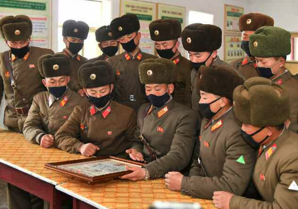 Top North Korean party departments spotlighted in rare visit to soldiers