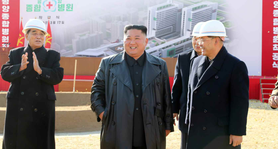 """North Korean officials vow """"all-night battle"""" to build new Pyongyang hospital"""