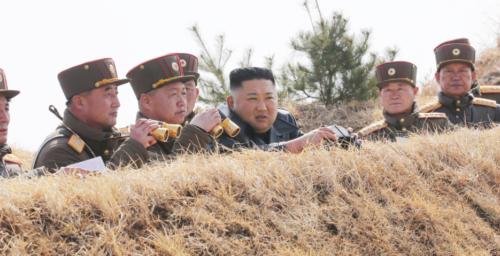 Kim Jong Un oversees artillery strike contest by North Korean army: KCNA