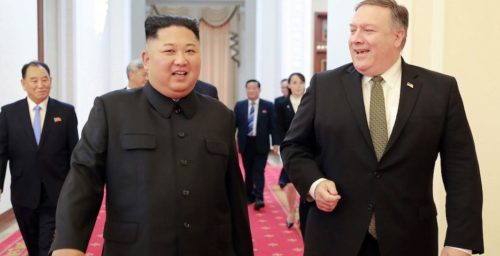 U.S. objectives remain the same whoever leads North Korea, Pompeo says