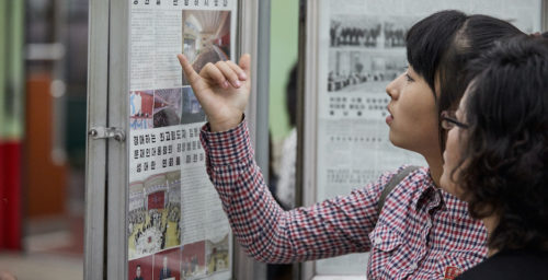How North Korea has used English-language media to drum up international support