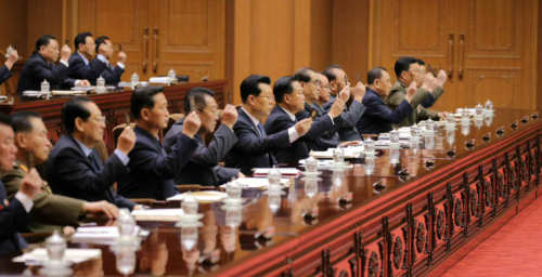 """North Korean Cabinet officials accused of """"serious mistakes"""" last year: KCNA"""