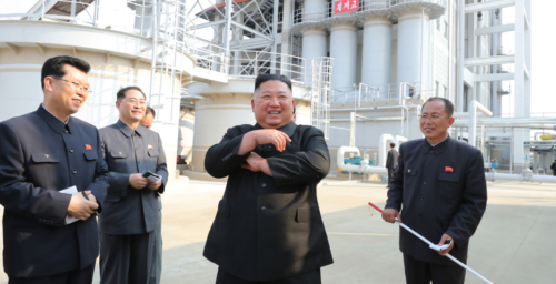 Kim Jong Un reappears in state media following 21-day absence