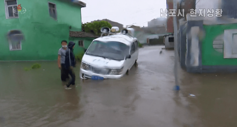 North Korea reports real-time typhoon damage in rare overnight broadcasts