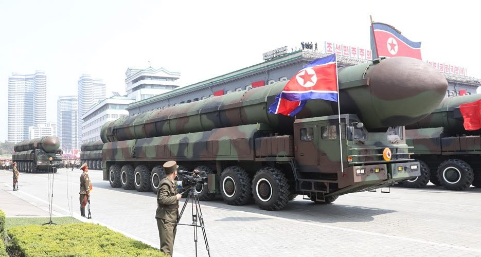 North Korea may parade more than a dozen new heavy missile launchers on Oct. 10
