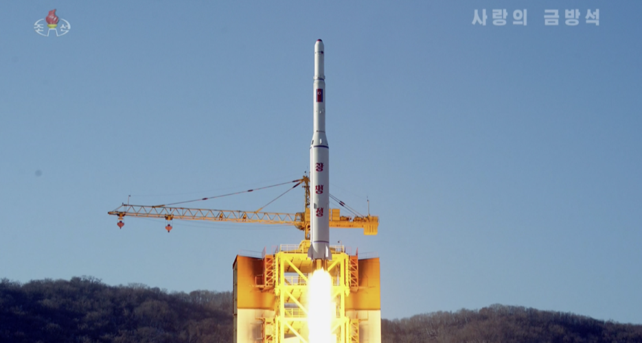 North Korea once again touts its national space program and satellite launches