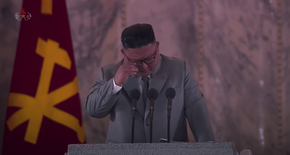 Apologies, tears and a 'war deterrent': Top quotes from Kim Jong Un's speech