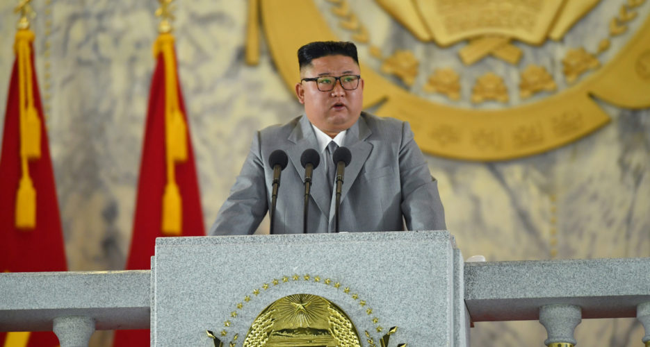 Kim Jong Un sheds tears and speaks of North Korea's hardships at holiday speech
