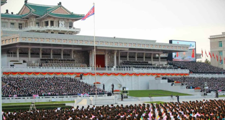Signs of military parade detected in Pyongyang on Sunday night, JCS says