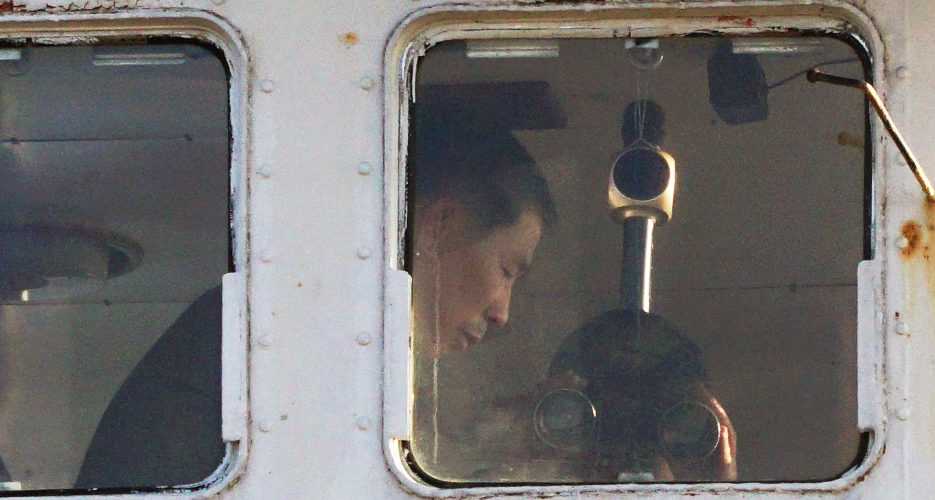 Ten weeks later, a North Korean crew is still trapped on a ship in Russia